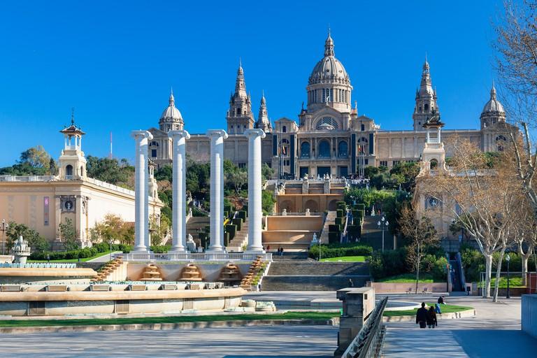Catalonia National Museum of Art (MNAC), National Palace (Palau Nacional).