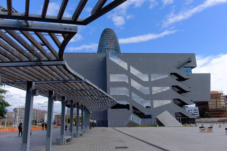 The Museu del Disseny de Barcelona, Spain.