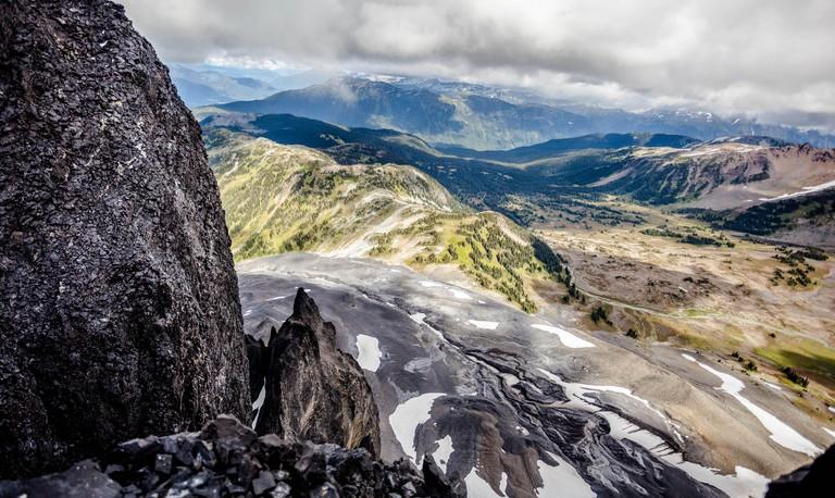 View from the top of Black Tusk, Garibaldi Provincial Park, British Columbia