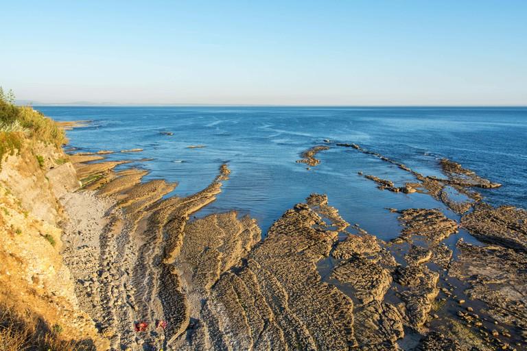 Parede Portugal. 04 July 2017. Avencas beach in Parede.  Parede, Portugal. photography by Ricardo Rocha.