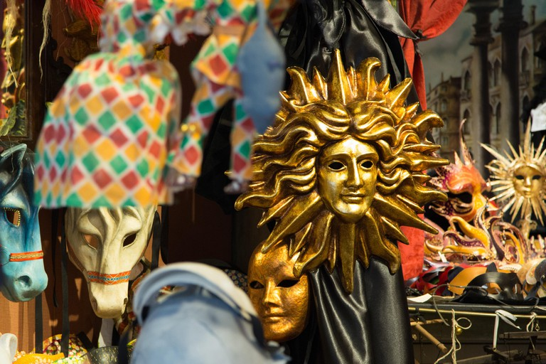 Venetian mask Italy.