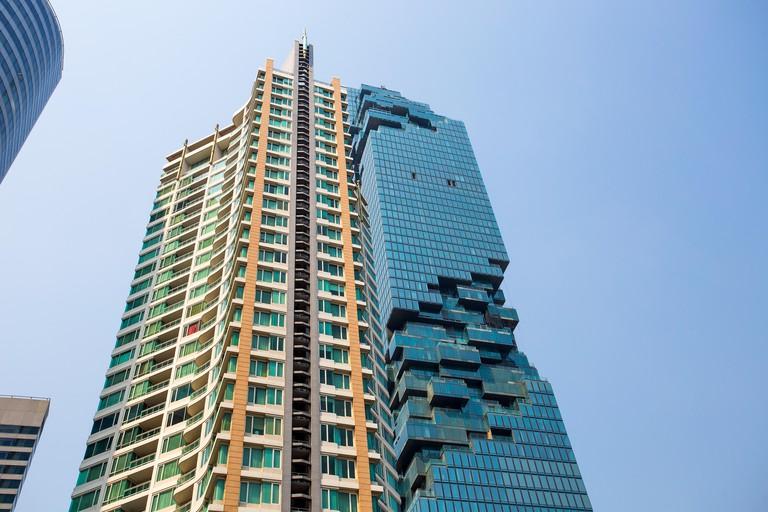 Get uninterrupted views of Bangkok from the King Power Mahanakhon building