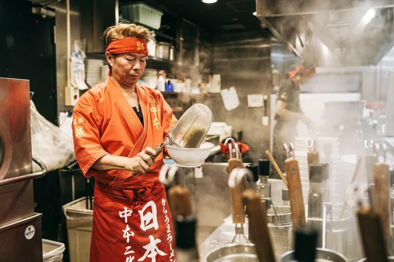 Mouko Tanmen Nakamoto's Makoto Shirane is a legend on Tokyo's ramen scene