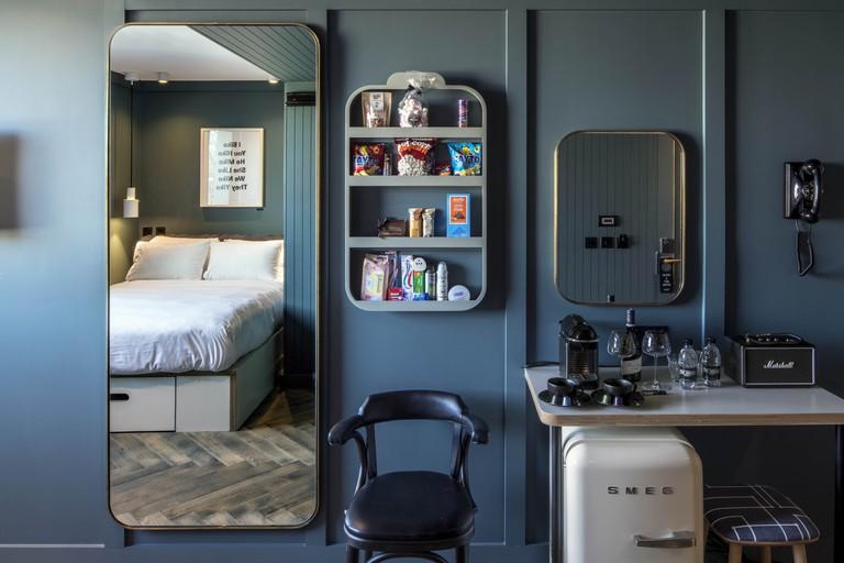 The Devlin Dublin's rooms have Marshall speakers, Smeg fridges and Nespresso machines