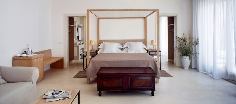 Suites are surrounded by fragrant camphor trees