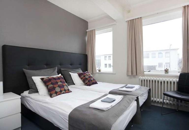 Double room at Brim Hotel, Reykjavik