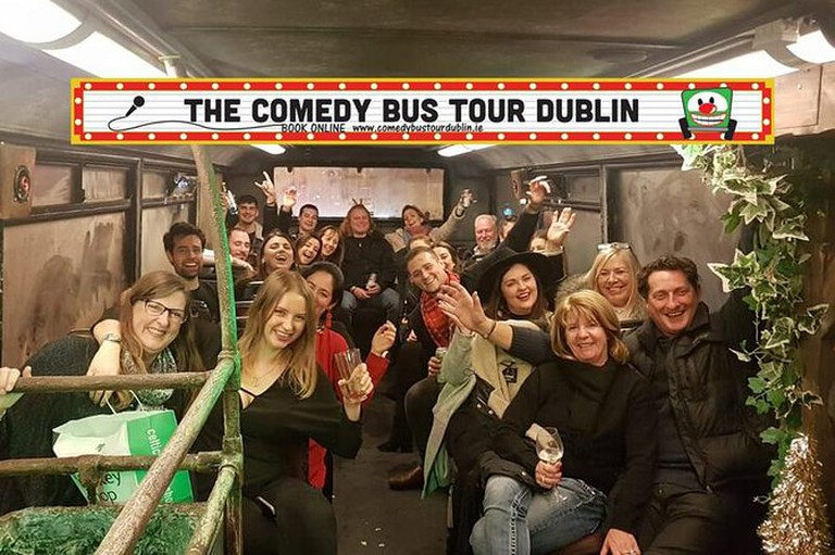 Take a comedy tour of the city
