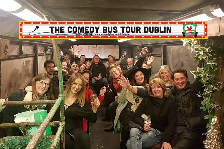 Take a comedy tour of the city