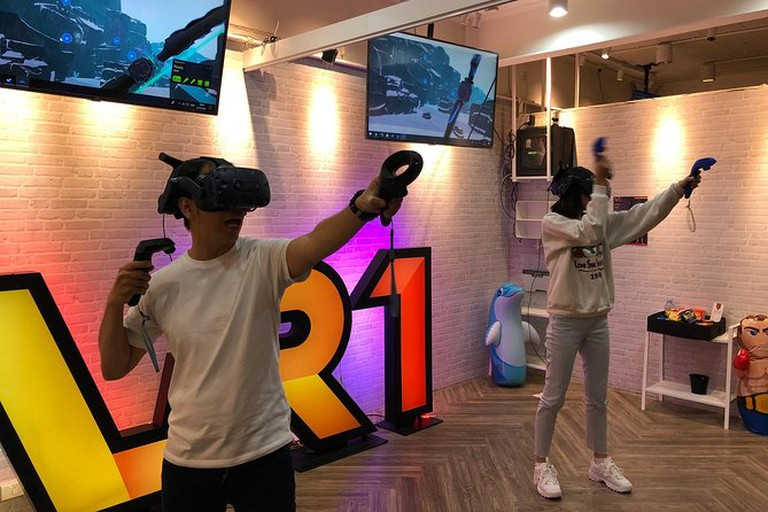 Try a virtual-reality experience