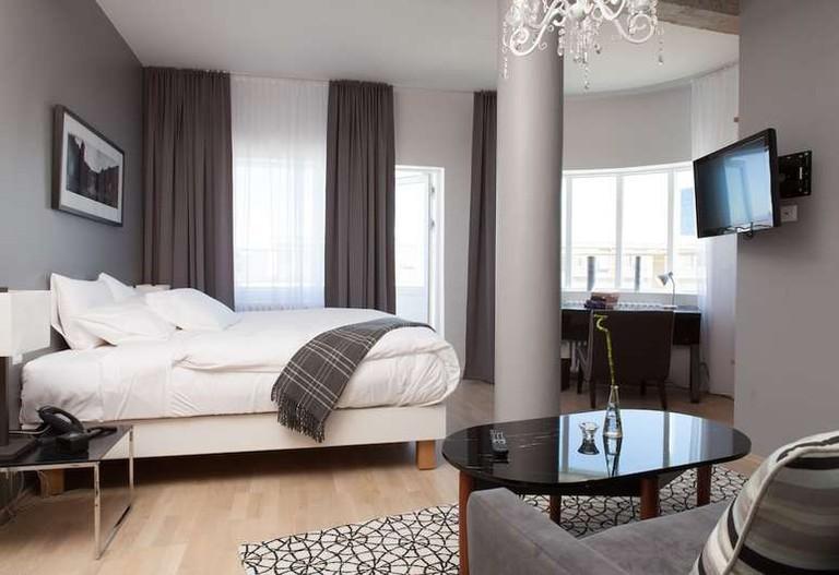 Deluxe room at Hlemmur Square Hotel, Reykjavik