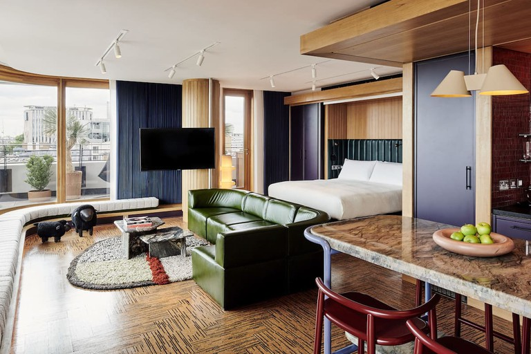 Guest room at The Standard London