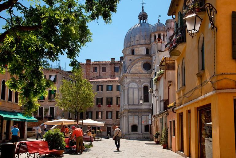 Santa Maria dei Miracoli is a jewel box of a church