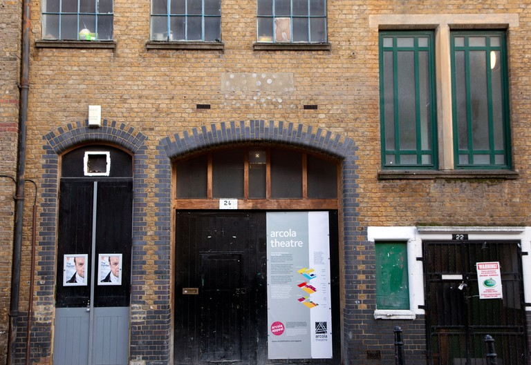 Arcola Theatre, Dalston, London.