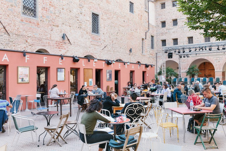 Florence's compact centre means you can see the sights and relax in spots like Le Murate Caffè Letterario