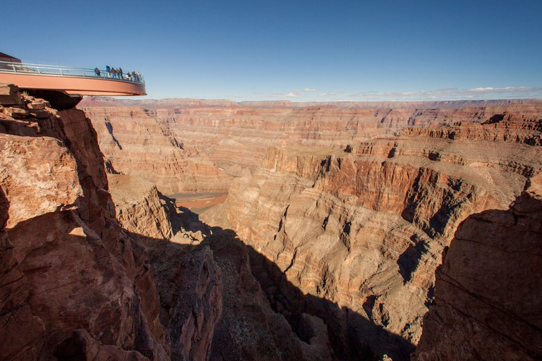 Skywalk in the Grand Canyon