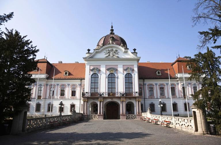 The Royal Palace in Godollo, Hungary