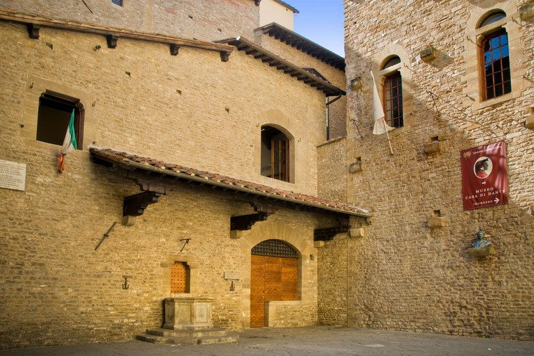 Italy, Tuscany, Florence, Dante Alighieri house