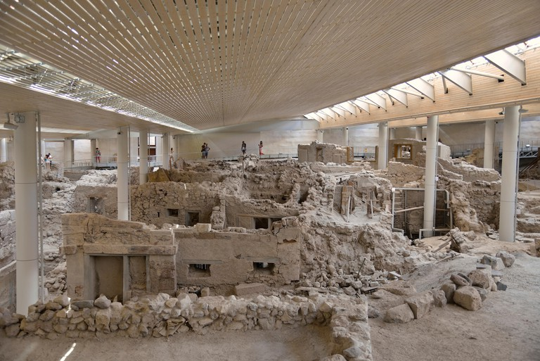 Bronze Age-Minoan archaeological site of Akrotiri