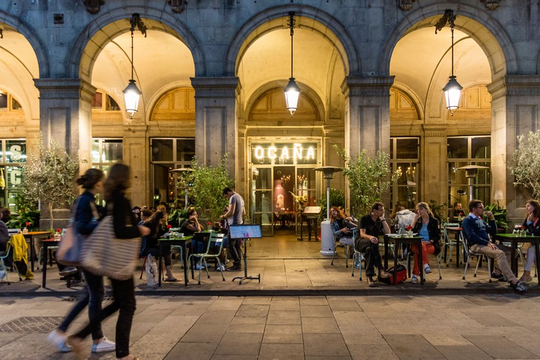 Ocana Bar, Club, Placa Reial, Barri Gotic, Barcelona