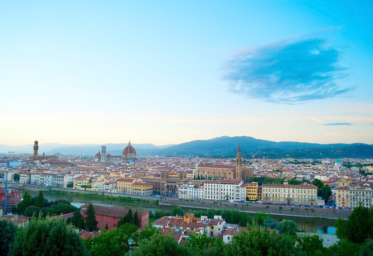 View from the Piazzale Michelangelo, Florence