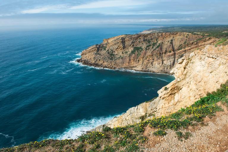 Thrillseekers will love coasteering in Sesimbra