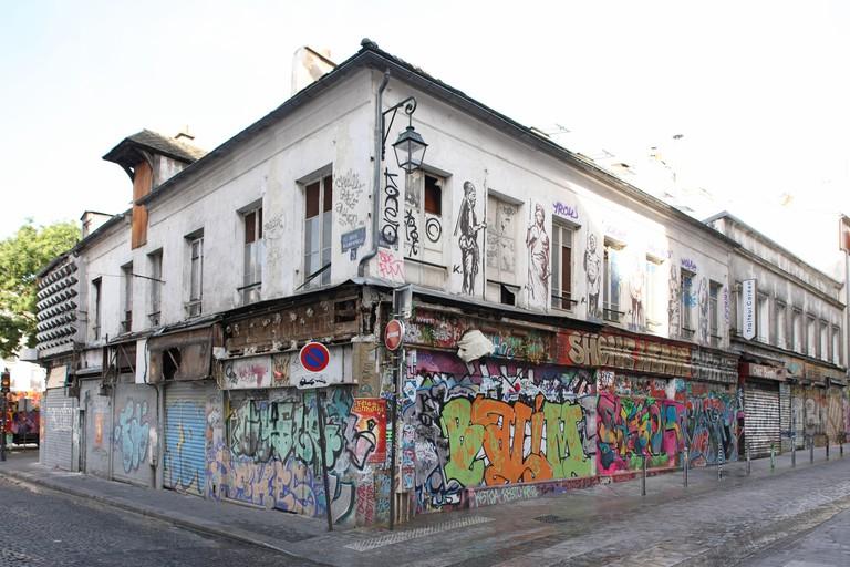 Rue denoyez, Paris