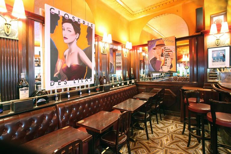 La Closerie des Lilas restaurant in Paris