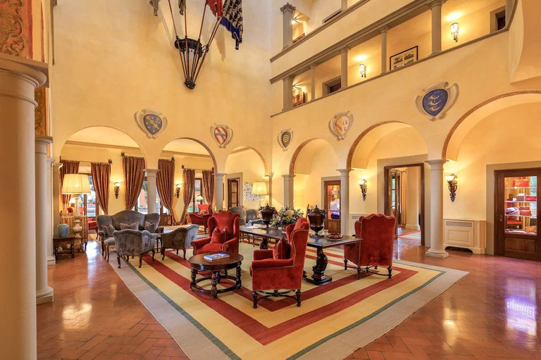 Villa La Massa occupies a 16th-century house that once belonged to the powerful Medici family