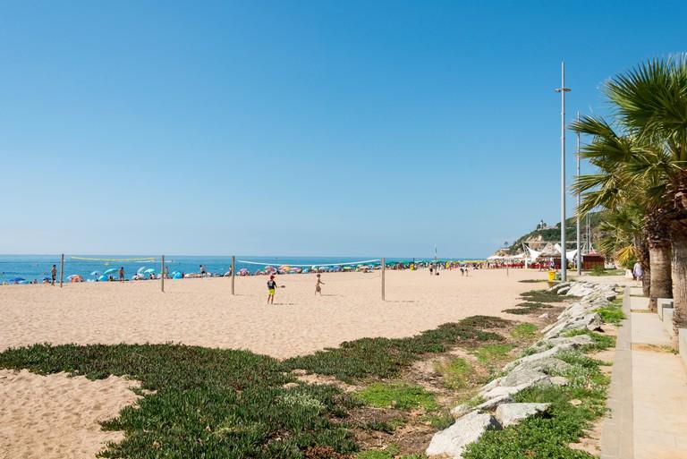 Calella, Province of Barcelona, Catalonia, Spain