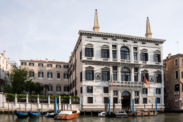The Aman Hotel on the banks of the Canal Grande, ( Grand Canal) is Venice's first 7 star awarded hotel in Venice, Italy. The