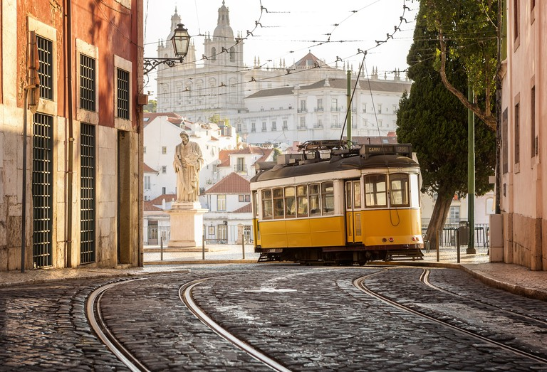 Lisbon's trams are part of the city's slower pace of life