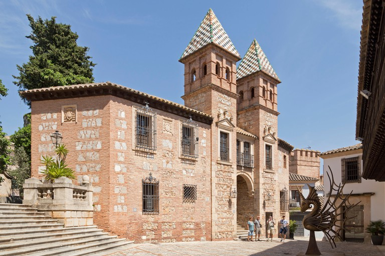 Poble Espanyol is an open-air museum highlighting various Spanish villages