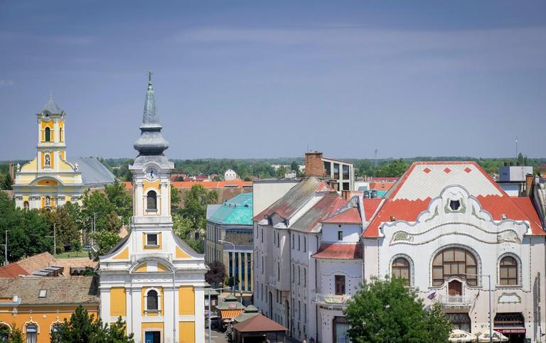 Hungary's city of Kecskemet