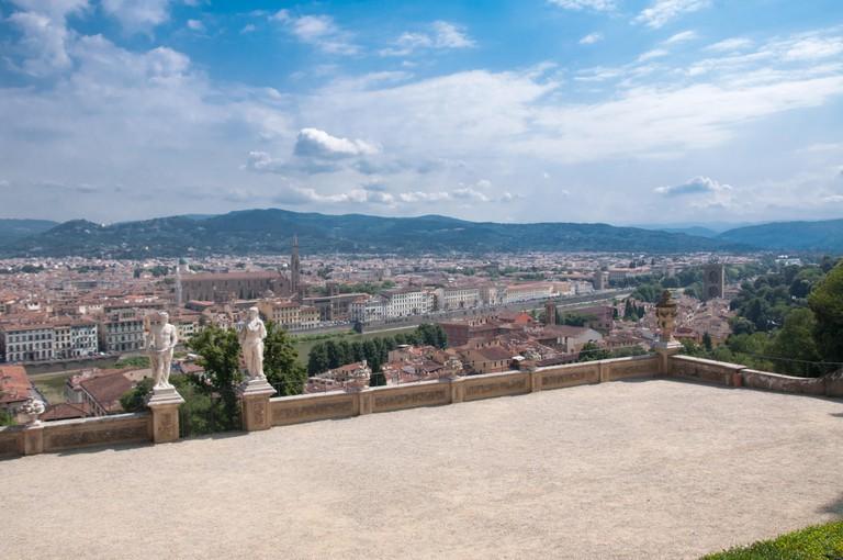 Bardini Garden, Florence, Tuscany, Italy