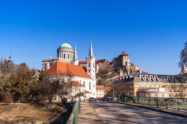 View of an Esztergom Basilica