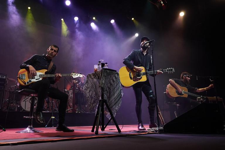 Sidecars performing at Sala Barts, Barcelona
