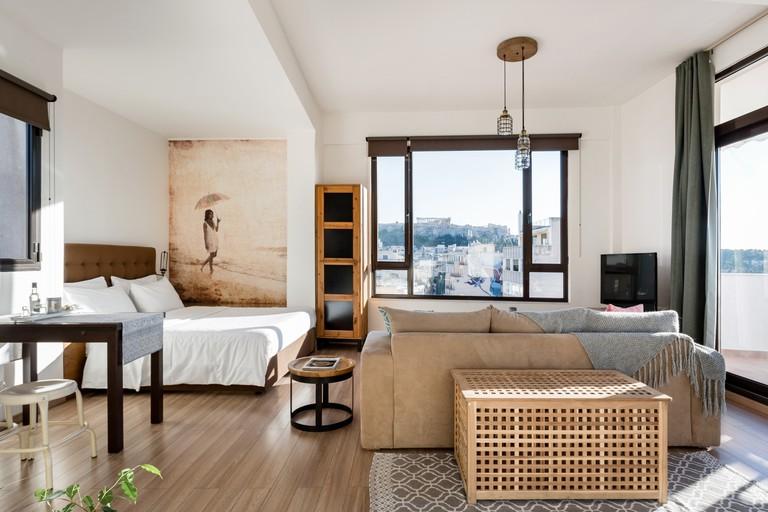 Studio apartment in Psirri