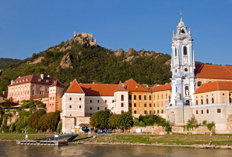 The enchanting Wachau Valley in Lower Austria is easily reached from Vienna