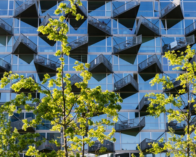VM Houses, Copenhagen, Denmark.