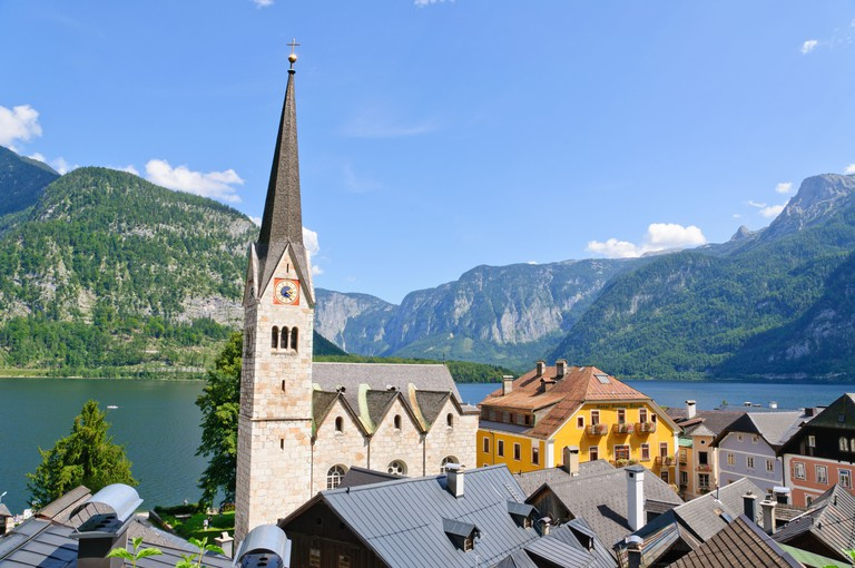 Hallstatt is a tiny village with a population of just 750 people