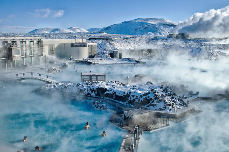 The Blue Lagoon is Iceland's most well-known attraction