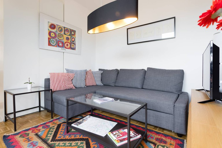 This stunning terrace apartment is the perfect home away from home in Vienna