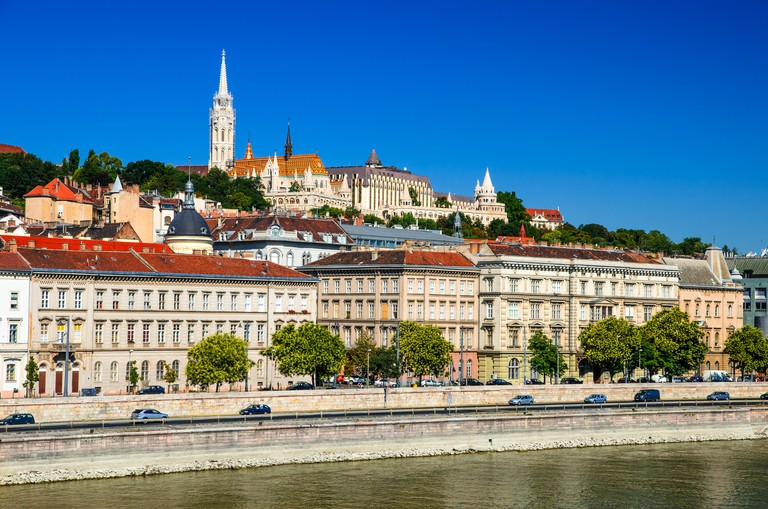 Lively Budapest is just over a two-and-a-half hour drive from Vienna