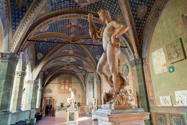 Bargello Museum in Florence.