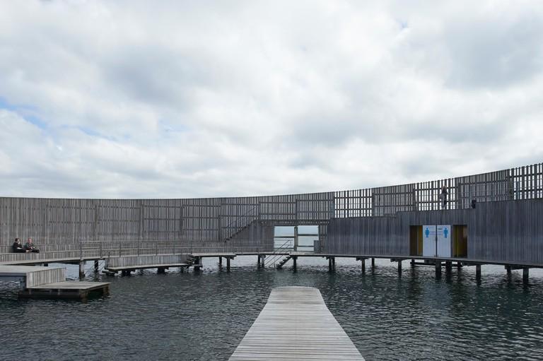 Exterior of Kastrup Sobad, Copenhagen, Denmark