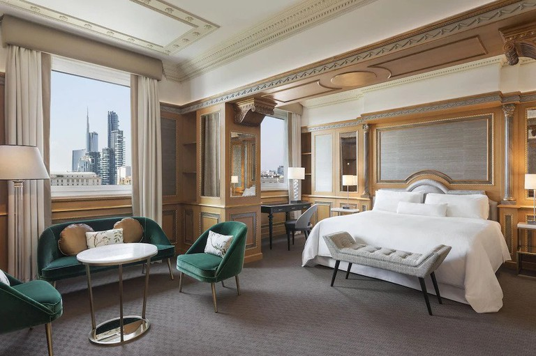 The Westin Palace, Milan has a variety of contemporary rooms and opulent suites