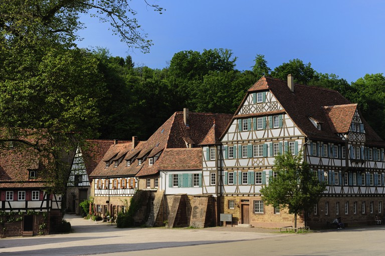 The Maulbronn Monastery Complex is considered one of the best preserved in Europe