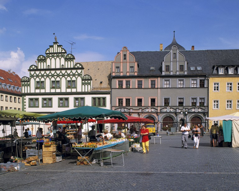 Weimar blossomed in the 18th and 19th century as a cultural hub for writers and scholars