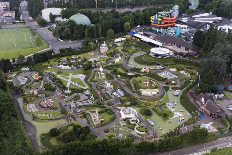 Mini-Europe, miniature park located in Bruparck, Brussels