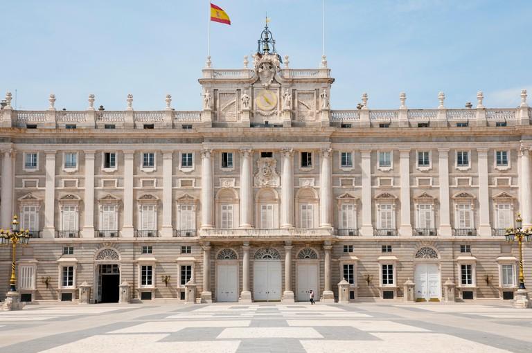 Royal Palace of Madrid, Spain.